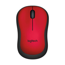 LOGITECH M221 Silent Wireless Mouse - Red