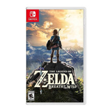 NINTENDO Switch Game - The Legend of Zelda: Breath of the Wild