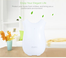 Portable Ultra-mini Semiconductor Dehumidifier Air Dryer WHITE US PLUG