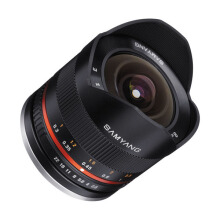 Samyang for Fujifilm 8mm f/2.8 UMC Fisheye II Lens Black