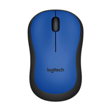 LOGITECH M221 Silent Wireless Mouse - Blue