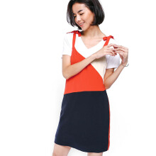 LOVE, BONITO Bealla Colour Block Dress - Navy