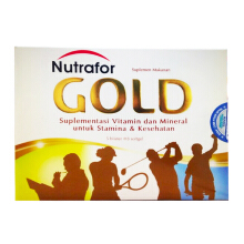 NUTRAFOR Gold Box (40 Softgels)