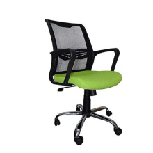 Ivaro - Kursi Kantor Paris D Chrome - Green Green big