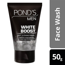 POND'S Men White Boost Face Scrub 50gr