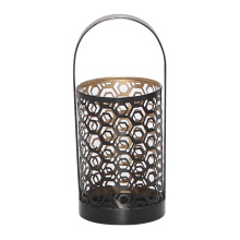 VIVERE Lantern Candle Holder Wavy - 25x11x11Cm