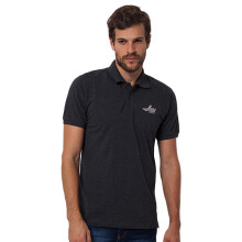 LEA Polo Shirt - Misty Dark Grey