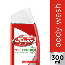 LIFEBUOY Body Wash Clini-shield10 Complete 300ml