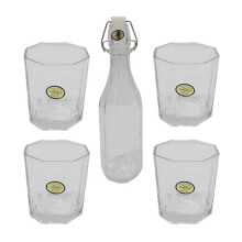 FORMIA Glass Drinking FR7091059 Set of 5 - White