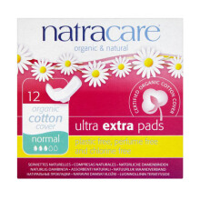 NATRACARE Ultra EXTRA pads Normal (NEW) 12's