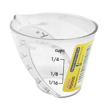 MAXIM TOOLS Angled Measuring Cup Transparent 60ML