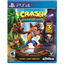 SONY PS4 Game - Crash Bandicoot N. Sane Trilogy