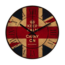 NAIL YOUR ART Carry On Wall Clock/30x30Cm