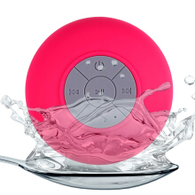 BTS - 06 Water Resistant Shower Bluetooth Speaker