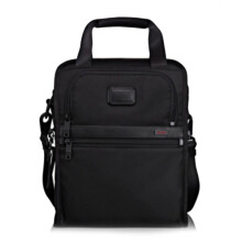 TUMI Alpha 2 Medium Travel Tote Black [22117D2]