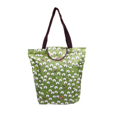HK Shopping Bag Trees - Green 39x37x13cm