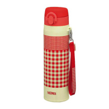 THERMOS Vacuum Insulated Mobile Mug - Merah Orange 550 ml (JNT-550 R-OR)