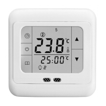 Floureon BYC07.H3 16A White touch screen thermostat