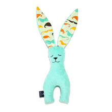 LA MILLOU Minky Bunny Doll - Mustache Candy Green BN01A