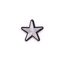 PATCH.INC Star Silver 3x3 cm