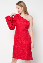 Bel.Corpo Puffy Chloe Dress - Red