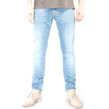 NUDIE JEANS Tight Long John Unisex - Saltwater Indigo