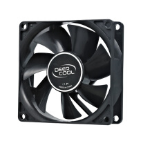 DEEPCOOL XFAN 8 cm BLACK (hydro bearing) Casing Fan