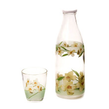 BRILIANT Bottle Set Flower Alanise - Hijau/GM1282