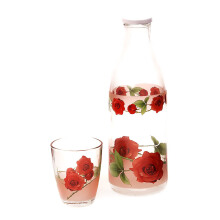 BRILIANT Bottle Set Flower Sharon - Merah/GM1282