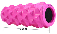 PU Skin EVA Yoga Fitness Foam Roller Physio Block Exercise Massage