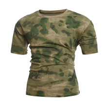 Military Camouflage T Shirt Men Breathable Quickly Dry US Army Combat T-Shirt Outwear T-shirt