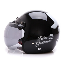 WTO Helmet Retro Gentleman - Black
