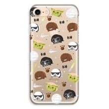CASETOMIZE Classic Hard Case for Apple iPhone 8 - Chubby Starwars & Friends Tsum