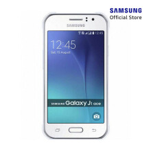 SAMSUNG Galaxy J1 Ace Ve - White - Contract phone