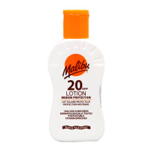 MALIBU Sunscreen  Medium Protective Lotion SPF 20 - 100ml