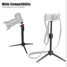 Portable Mini Tabletop Tripod w/Ballhead for Digital Camera and Cellphone KT200 Black 15mm