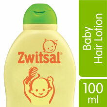 ZWITSAL Natural Baby Hair Lotion Aloe Vera, Kemiri & Seledri 100ml