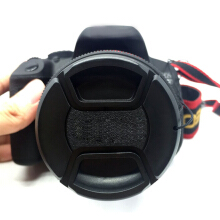 52mm Front Lens Hood Cap Cover for all Canon Lens Filter with cord