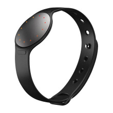 MISFIT Shine 2 Carbon Black Round Wearables Black Sport Band Lb (New Packaging V2.0) Unisex [S340SH2BZ]