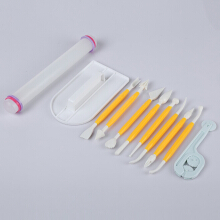 11pcs Cake Fondant Decorating Sugar Craft Cutter Tools