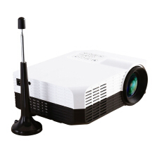 Excelvan home mini projector Support 1080p Black and White