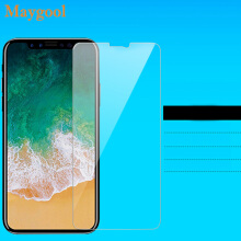Maygool Screen Protector For iphone X Tempered Glass Transparan 0.5mm