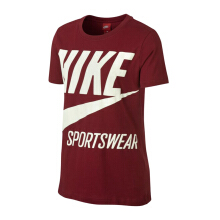 NIKE As Womens Nsw Tee Brs - Team Red/Sail