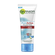 GARNIER Pure Active Acne & Oil Clearing Foam 100ml