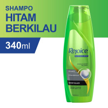 REJOICE Shampoo Shiny Black 340ml