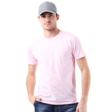 STYLEBASICS Men's Round Neck Basic T-shirt - Pink