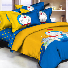 PANTONE Doraemon Lovely Bed Cover Set Single Fitted / 100x200cm