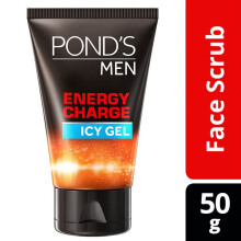 POND'S Men Energy Charge Icy Gel Facial Scrub 50gr