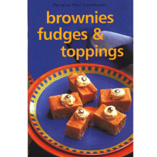 Mini Cookbooks - Brownies Fudges & Topping - [Paperback] 9789625931050