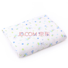 PurCotton Spring and Summer Children Blanket - Green Rabbit & Bee